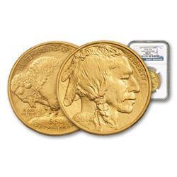 2014 MS 69 PCGS Gold 1 Oz. Buffalo $50