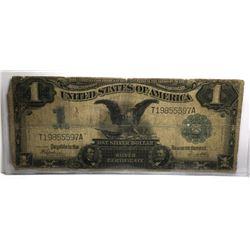 1899 Black Eagle Silver Certificate VG to Fine Gra