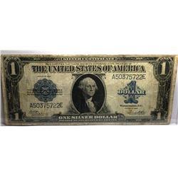 1923 Horseblanket Silver Certificate XF Plus Grade