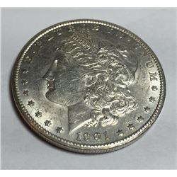 1901 s Better Date High Grade Morgan Dollar