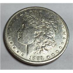 1891 S HIGH GRADE BETTER DATE Morgan Dollar