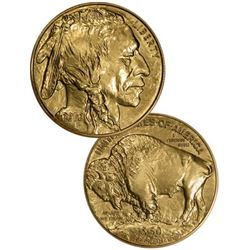 Random Date 1 oz US Gold Buffalo 24K