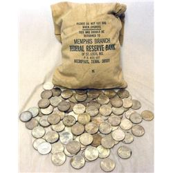 Bank Bag of 1000 Peace Silver Dollars - Mixed