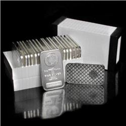 (20) Morgan Design Silver Bars 1 oz ea.
