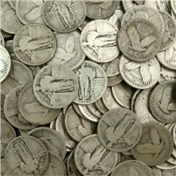 Lot of (100) Standing Liberty Quarter Dollars