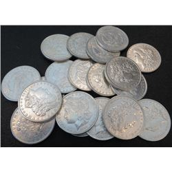 Lot of (20) Uncircualted Morgan Dollars Mixed