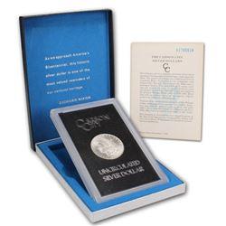 1883 CC GSA BU Morgan Silver Dollar