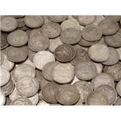 Lot of (100) Morgan Silver Dollars (ag-vg)