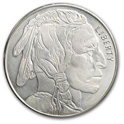 1 Troy oz. Silver Buffalo Design Bullion