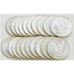 (20) UNC Random Date BU  Morgan Dollars