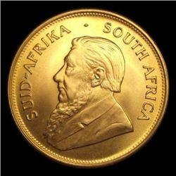 1 oz. Gold Krugerrand - Gold Bullion -