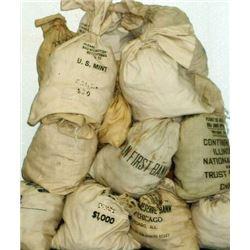 Bank Bag of (200) Un-searched Morgans -