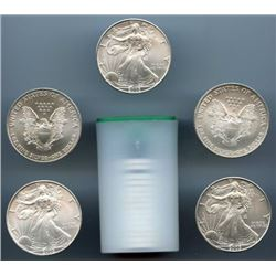 Roll of US Mint Direct Silver Eagles (20)