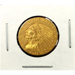 1911 $ 2.5 Gold Indian