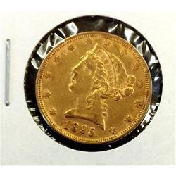 1895 $5 Gold Liberty