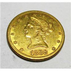 1888 s $ 10 Gold Liberty