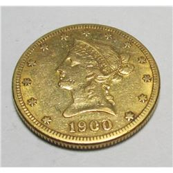 1900 s $ 10 Gold Liberty