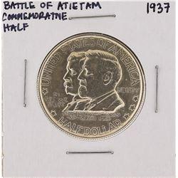 1937 Battle of Antietam Anniversary Commemorative Half Dollar Coin