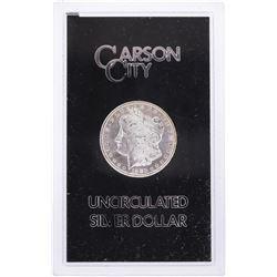 1883-CC $1 Morgan Silver Dollar Coin GSA Holder