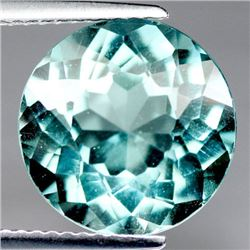 5.42 CT BLUISH GREEN AFRICAN QUARTZ