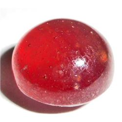 9.0 CT GARNET GEMSTONE ROUND CABOCHON CUT