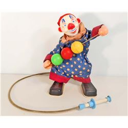 VINTAGE DURHAMS REMOTE CONTROL PERFORMING CLOWN