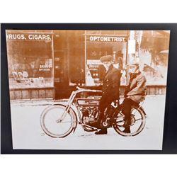 HARLEY DAVIDSON MOTORCYCLE POSTER PRINT