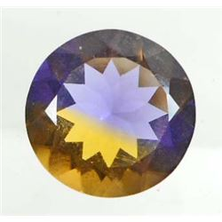 14 CT GOLD/PURPLE AMETRINE - ROUND CUT