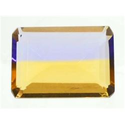 15.4 CT PURPLE/GOLD AMETRINE - OCTAGON CUT