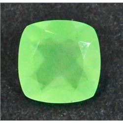 8.4 CT PREHNITE CHALCEDONY - CUSHION CUT