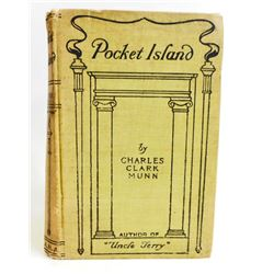 "1901 ""POCKET ISLAND"" HARDCOVER ANTIQUE BOOK"