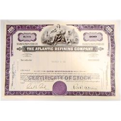 VINTAGE 1966 ATLANTIC REFINING CO STOCK CERTIFICATE