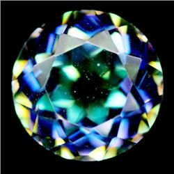 2.13 CT AZOTIC MULTICOLOR MYSTIC AFRICAN QUARTZ