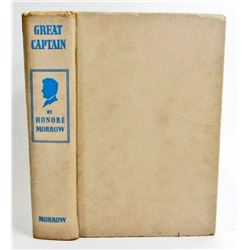 "1930 ""GREAT CAPTAIN"" HARDCOVER VINTAGE BOOK"