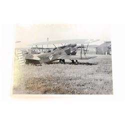 VINTAGE US ARMY A.C.25 333 PLANE PHOTOGRAPH