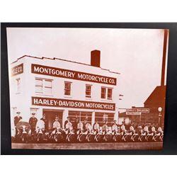HARLEY DAVIDSON MOTORCYCLES POSTER PRINT