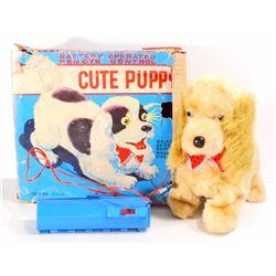 VINTAGE REMOTE CONTROL TOY PUPPY IN ORIGINAL BOX
