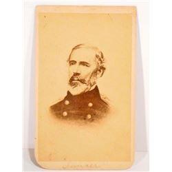 ANTIQUE CDV PHOTO OF GENERAL GEORGE SUMNER