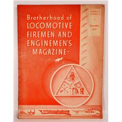 1937 LOCOMOTIVE FIREMEN AND ENGINEMENS MAGAZINE
