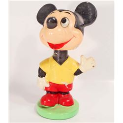 VINTAGE 1960S WALT DISNEY MICKEY MOUSE BOBBLEHEAD NODDER - JAPAN
