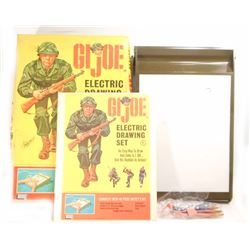VINTAGE 1965 GI JOE ELECTRIC DRAWING SET W/ ORIGINAL BOX