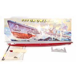 VINTAGE REVELL USS GROWLER MODEL KIT W/ ORIGINAL BOX