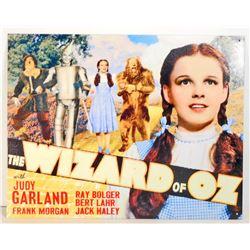 WIZARD OF OZ METAL ADVERTISING SIGN - 12.5X16
