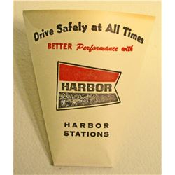 VINTAGE HARBOR GAS STATION PAPER DRINKING CUP