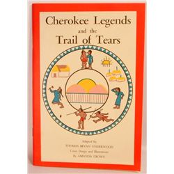 """""""CHEROKEE LEGENDS AND THE TRAIL OF TEARS"""" PAMPHLET BOOK"""