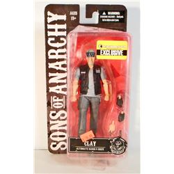 NEW SONS OF ANARCHY CLAY EXCLUSIVE ACTION FIGURE - NEVER OPENED
