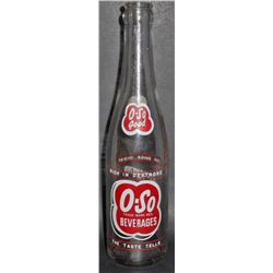 VINTAGE O-SO GOOD SODA BOTTLE HUNTINGTON, WV - 10 OZ