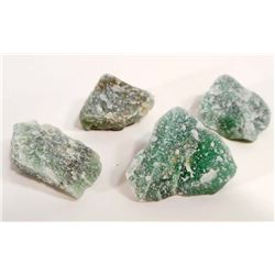 LOT OF 364.0 CTS OF ROUGH GREEN QUARTZ