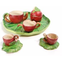 VINTAGE APPLE MINIATURE TEA SET