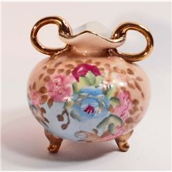 "NIPPON INSPIRED ORNATE PORCELAIN VASE - 4"" TALL"